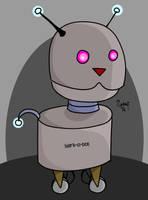 Bark-o-bot by kipplesnoof