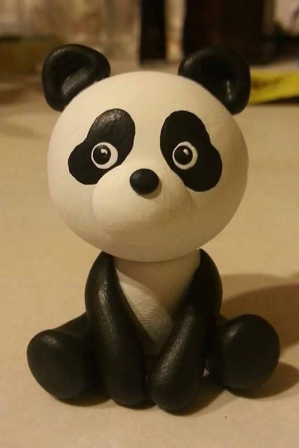 Panda by kipplesnoof