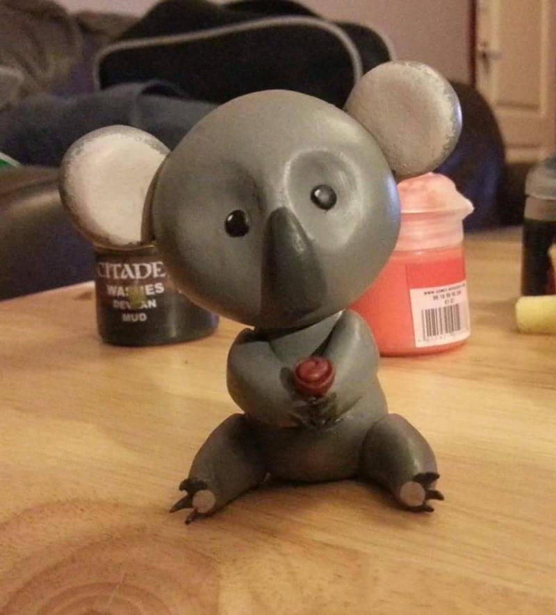 Koala by kipplesnoof