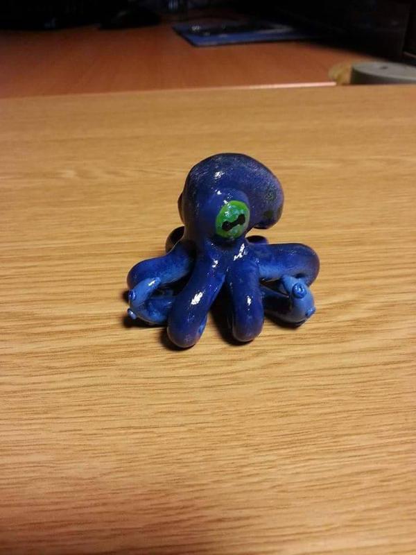 Octopus by kipplesnoof