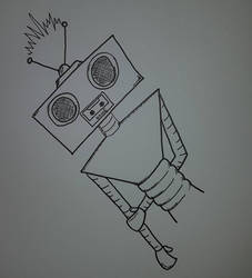 Noisebot by kipplesnoof