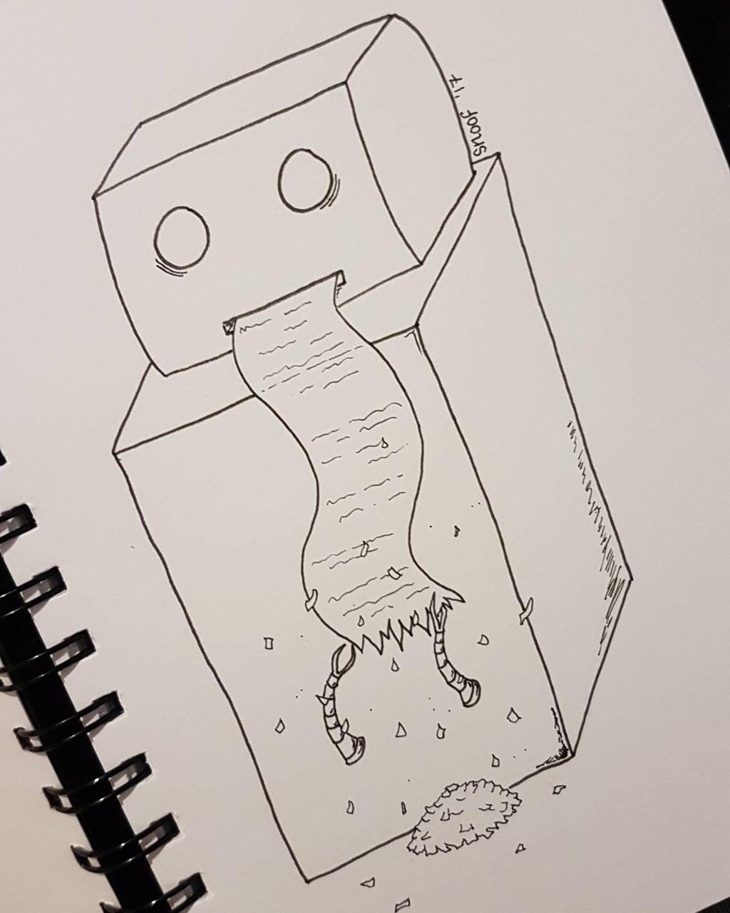 Social anxiety bot. by kipplesnoof