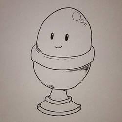 Friendly egg.