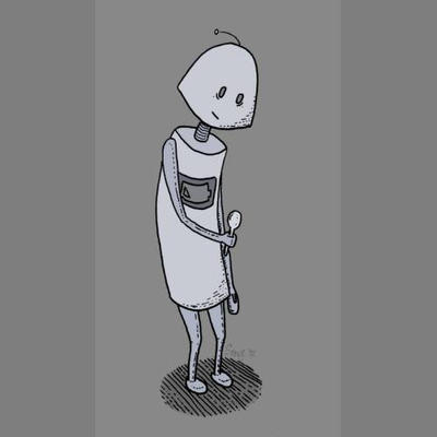 Spoonbot. by kipplesnoof