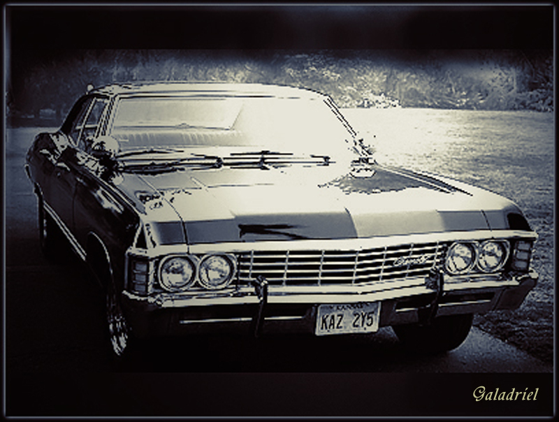 supernatural car impala wallpaper - photo #4
