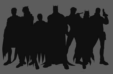 Bat Family by mojojojolabs
