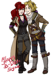 Syne and Ezreal [PC] by Arenbou