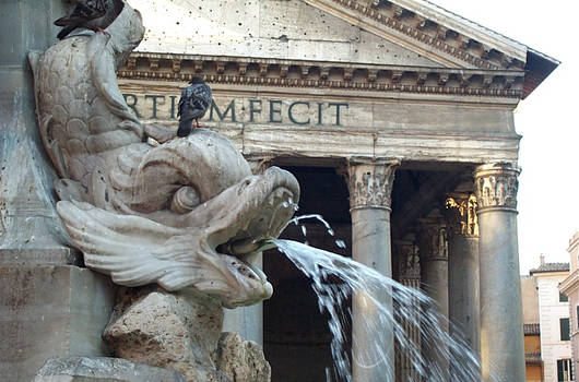 pantheon - fountain