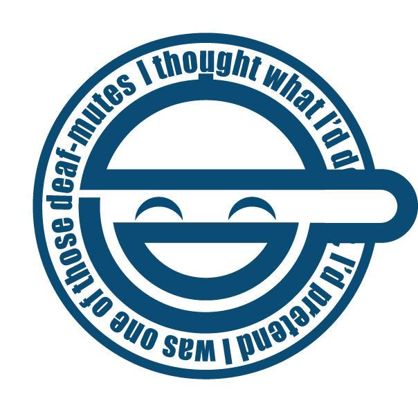 laughing man logo - photo #1