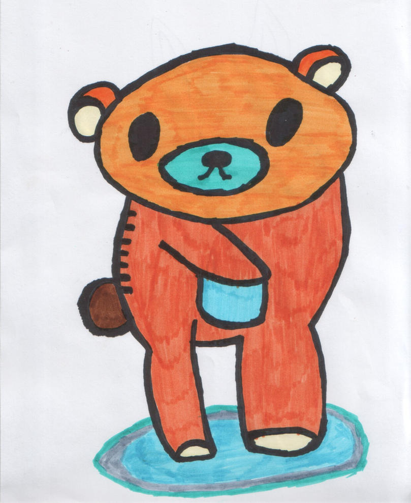 Teddy Bear by christ13430