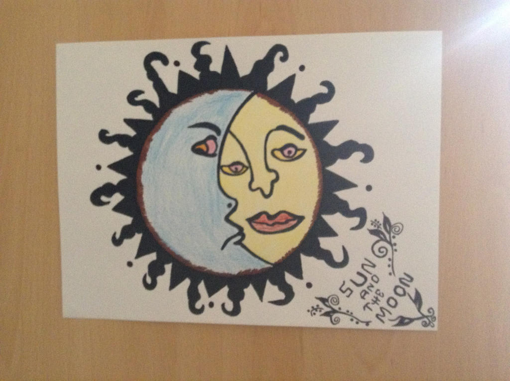 Sun and the Moon by christ13430