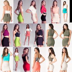 Tight Miniskirt Collage by MiniMan5468