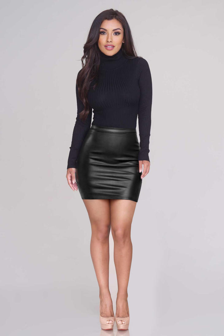 Mini skirts fashion show 10
