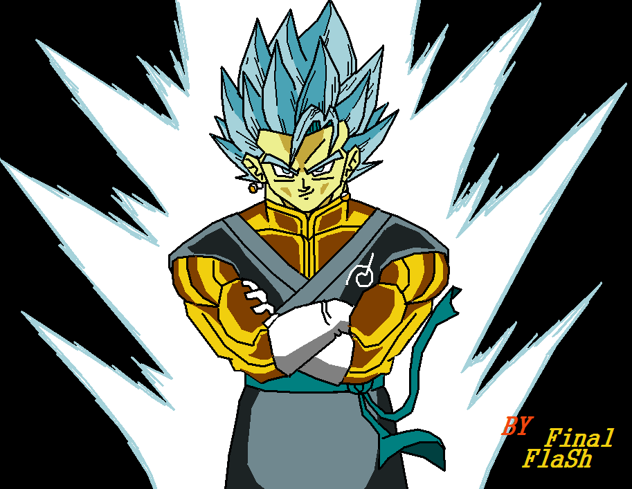 Super saiyan blue vegetto by aubreiprince on deviantart for Dragon ball z bathroom