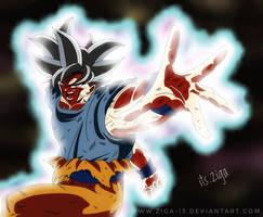 Ultra Instinct Goku ( Migatte No Gokui Goku ) by Ziga-13