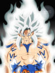 Beyond Ultra Instinct..Super Saiyan White Goku !! by Ziga-13