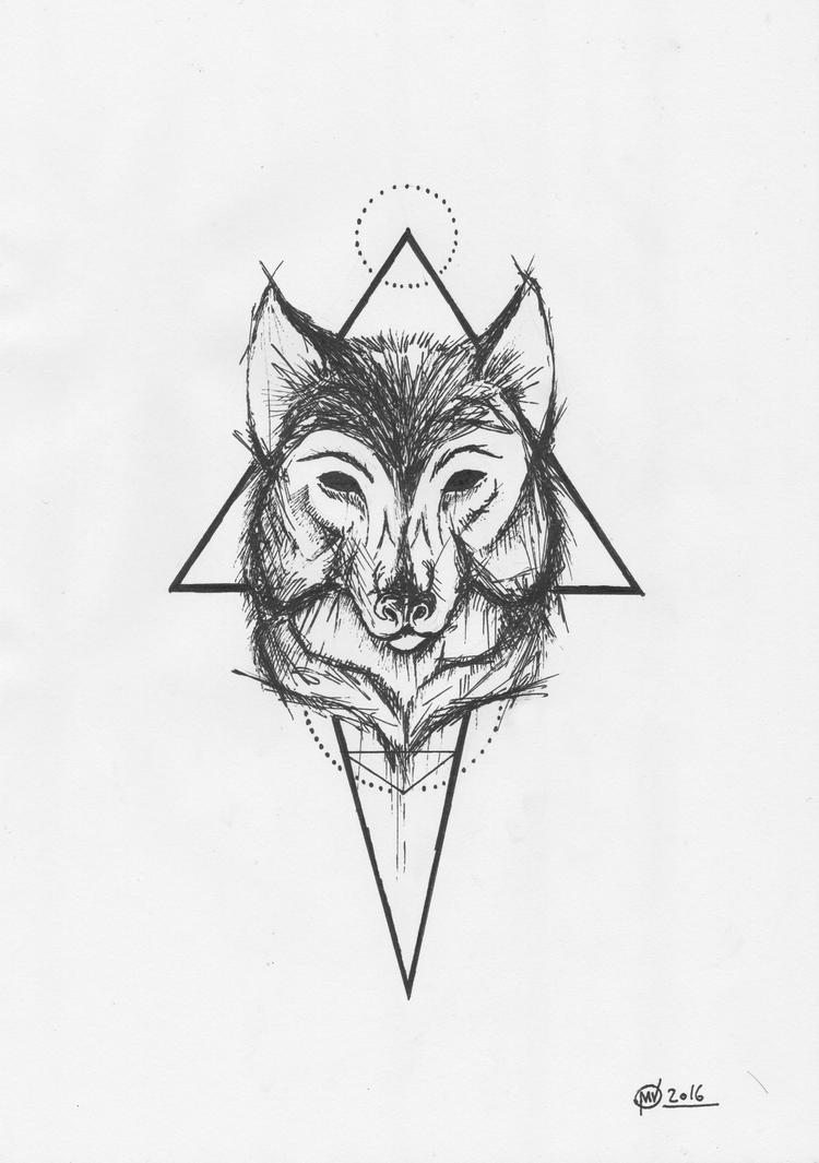 Wolfmoon by El3c7r0N