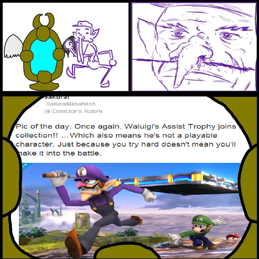 Did Somebody Say Waluigi Memes By Terrafinrules On Deviantart