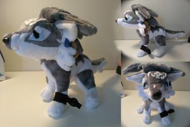 Wolf Link Plushie by Gaymerboi