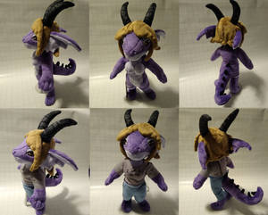 Anthro Dragon Plush Commission