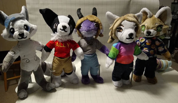 The Plush Gang's all here!
