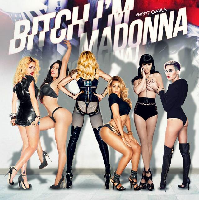 Bitch Please - Im Madonna by brittoatila