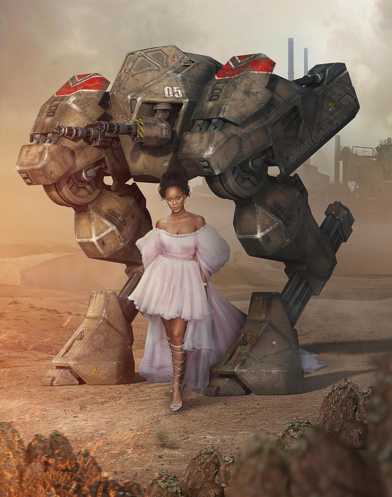 - Valerian princess of war - by brittoatila
