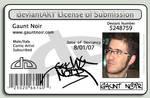 Gaunt DA license