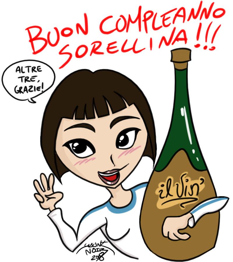 Auguri Matrimonio Per Sorella : Buon compleanno sorellina by gauntnoir on deviantart