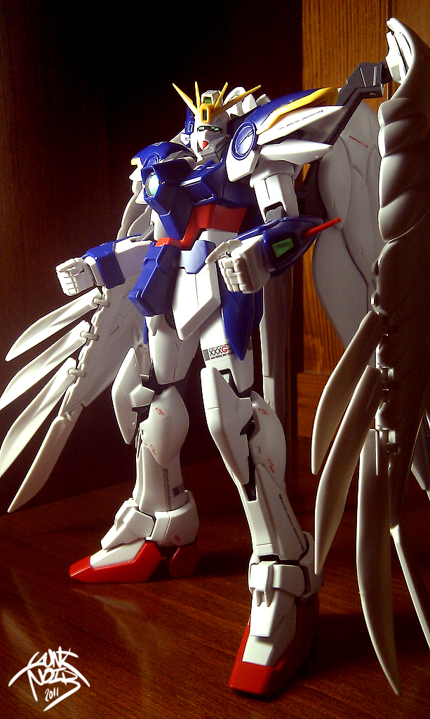 Wing Gundam Zero MASTER GRADE by GauntNoir