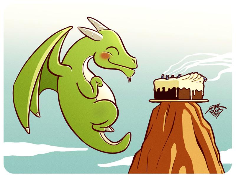 Anniversaires des habitants des Portes d'Elliandre - Page 5 Happy_dragon_birthday_cri___d_by_gauntnoir-d4syrb3