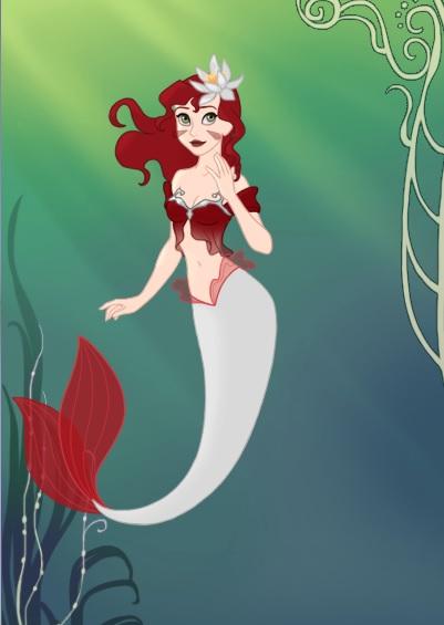 Corana Rosewind Mermaid by starthechameleon