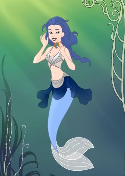 Lotus Mermaid by starthechameleon