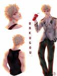Bakugou, character profile (mha)