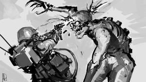 Hound vs Decay 01 by Opravdu
