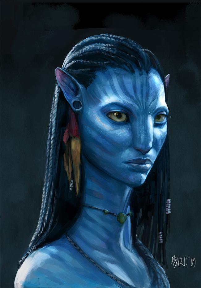 Avatar Fan Art by pbario