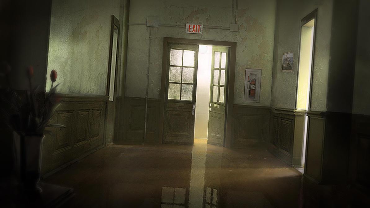 Dark Hallway by pbario