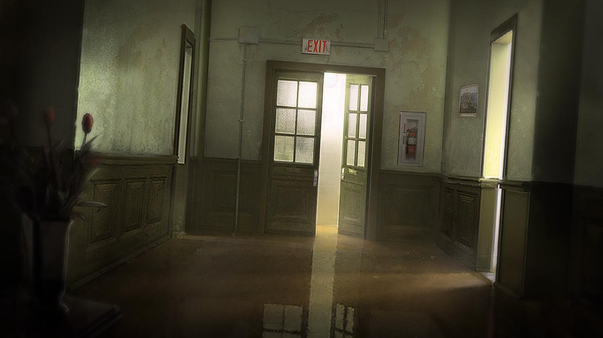 Dark Hallway by pbario on DeviantArt