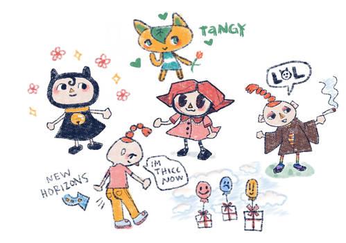 Animal Crossing Doodles
