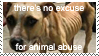 Animal Abuse Stamp by T-A-F-A