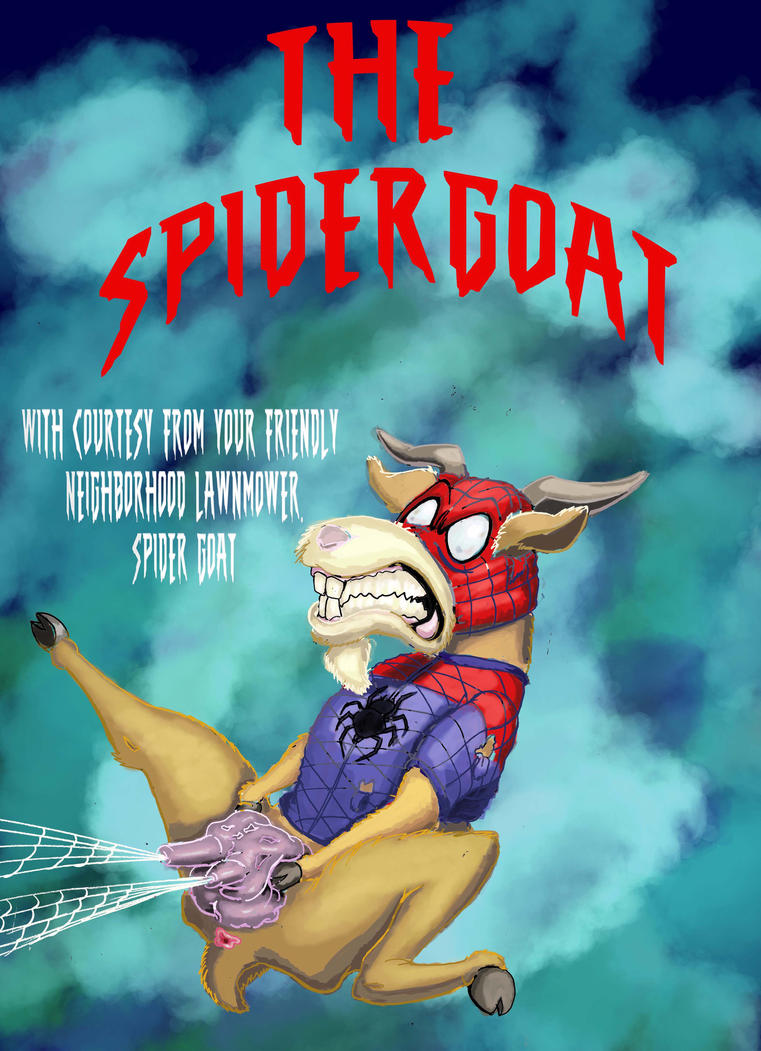 Spidergoat by artlinerscum