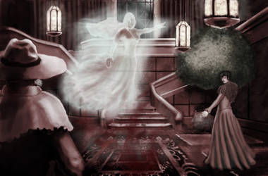 mansion horror Final by artlinerscum