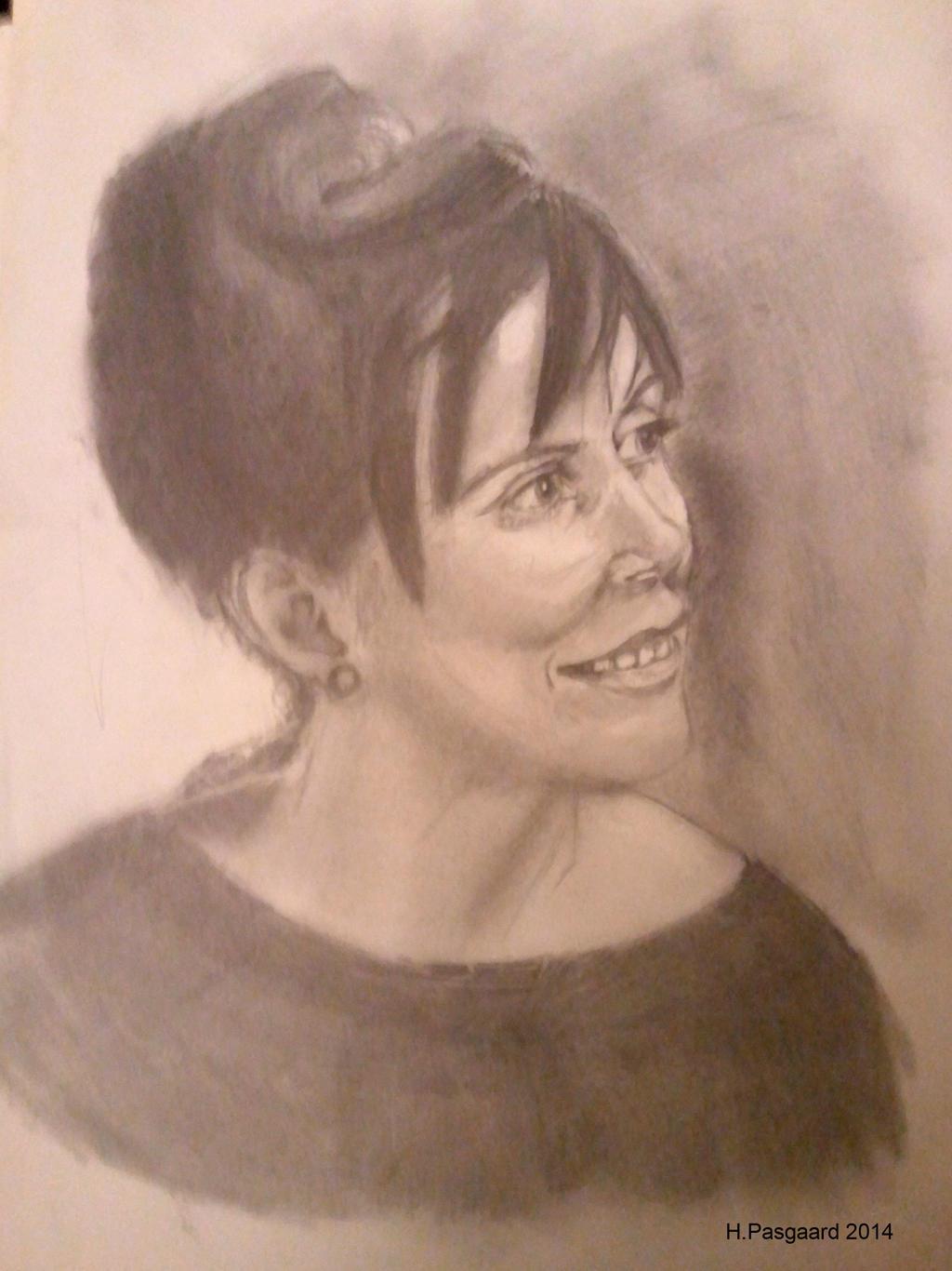 Portrait exersice. by artlinerscum