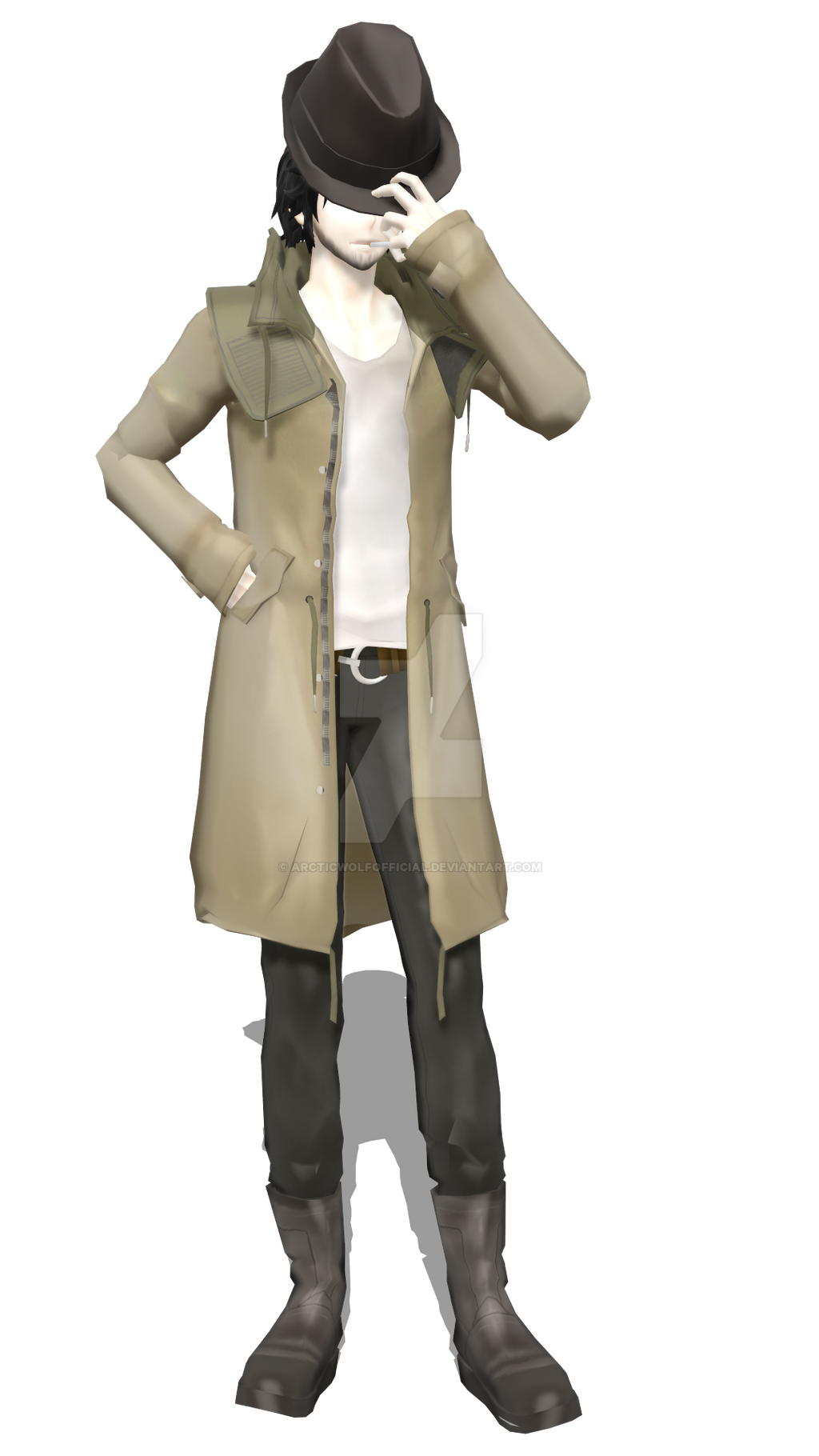 [MMDxYS] Journalist (Alpha) by ArcticWolfOfficial