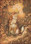 SEPIA FOX by STRIX-artist