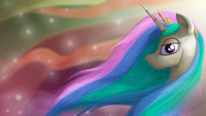 Princess Celestia Wallpaper Ver. 2.0 (1080p)