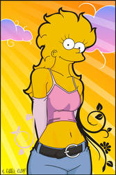 Lisa Marie Simpson30 by el-KARPik