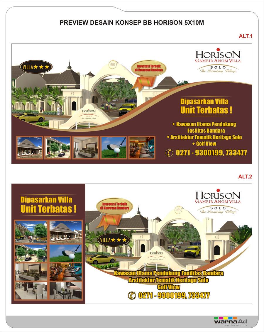 Billboard design concepts 'Horizon Hotel and quot