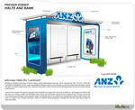 ANZ BANK CONCEPT Bus Stop LANDMARK