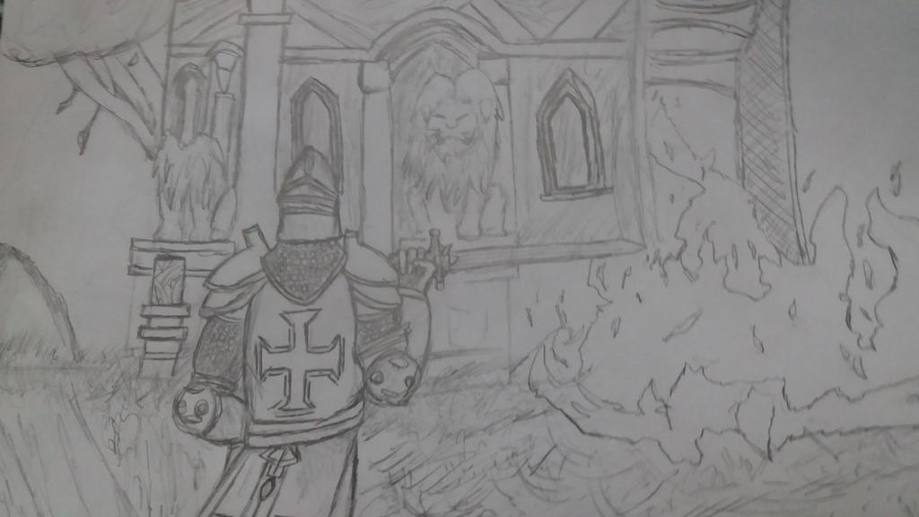 Templar by gustavo40123